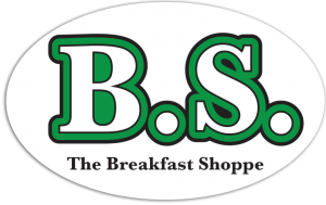 BS- The Breakfast Shoppe sticker